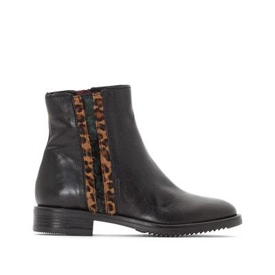 Boots in leer Zarko MJUS