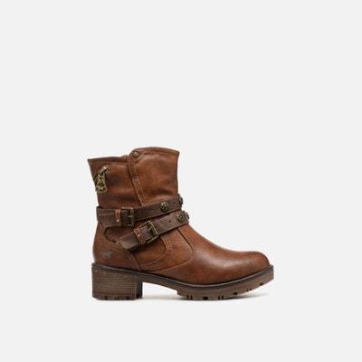 9286c12cecb02 Boots à boucles Boots à boucles MUSTANG SHOES