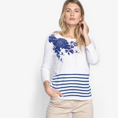 Shirt im Matrosen-Stil, Rundhalsausschnitt Shirt im Matrosen-Stil, Rundhalsausschnitt ANNE WEYBURN