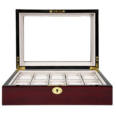 Ecrin Luxe bois 10 montres, Kennett, Cerisier mat Ecrin Luxe bois 10 montres, Kennett, Cerisier mat KENNETT