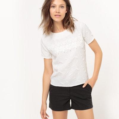 Short-Sleeved Lace Blouse MOLLY BRACKEN