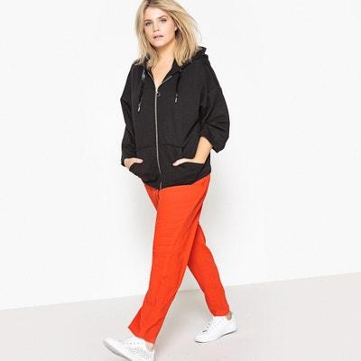 Oversize Zip-Up Sweatshirt CASTALUNA