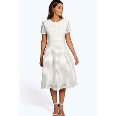Collection robe de bal midi à jupe circulaire BOOHOO