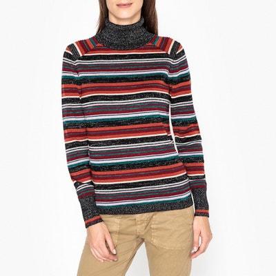 Пуловер с воротником с отворотом из тонкого трикотажа MARCO Пуловер с воротником с отворотом из тонкого трикотажа MARCO BERENICE