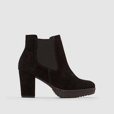 Wide-Fit Suede Boots Wide-Fit Suede Boots CASTALUNA PLUS SIZE