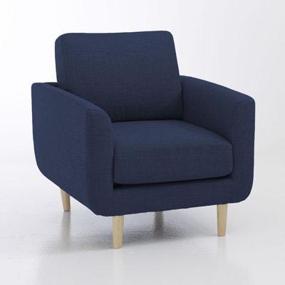 fauteuil bleu ciel fauteuil jimi la redoute interieurs. Black Bedroom Furniture Sets. Home Design Ideas