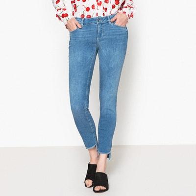 Skinny Jeans mit Fransen am Abschluss Skinny Jeans mit Fransen am Abschluss LIU JO