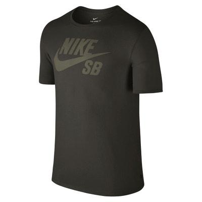 T-shirt met ronde hals en motief vooraan NIKE