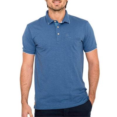 T-shirt con scollo rotondo tinta unita, maniche corte T-shirt con scollo rotondo tinta unita, maniche corte OXBOW