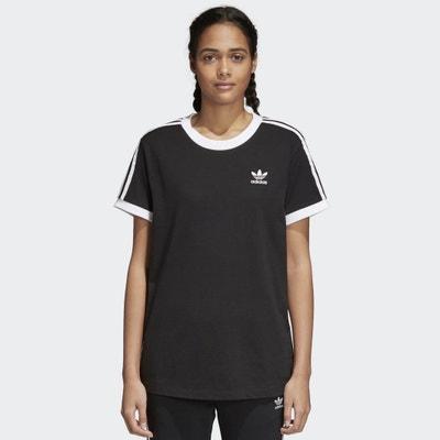 Short-Sleeved Crew Neck 3-Stripes T-Shirt Adidas originals