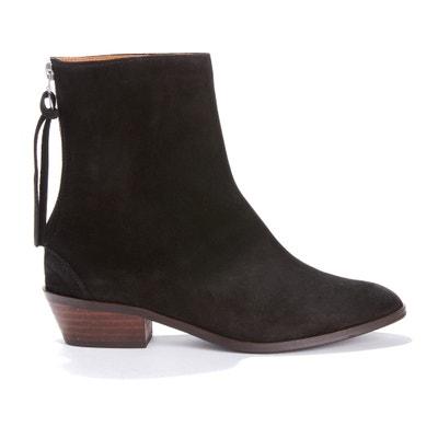 Boots cuir à talon moyen SACHA Boots cuir à talon moyen SACHA ANONYMOUS COPENHAGEN