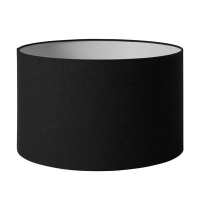 Abat-jour cylindrique Polyester SCOTT Noire MADURA