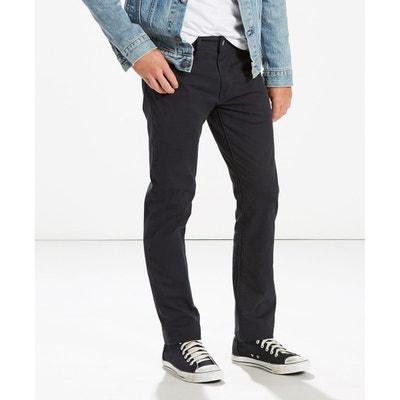 41c51ae32b2c1 Pantalon en toile de coton stretch coupe 511 slim Pantalon en toile de  coton stretch coupe