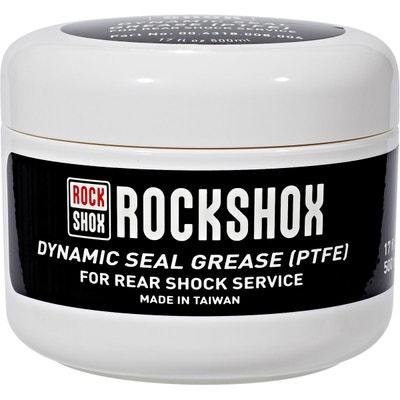 Graisse à joints - pour joints amortisseur 500 ml blanc/noir Graisse à joints - pour joints amortisseur 500 ml blanc/noir ROCK SHOX