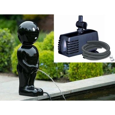 Kit fontaine de bassin Boy 67 cm Noir + pompe Kit fontaine de bassin Boy 67 cm Noir + pompe UBBINK