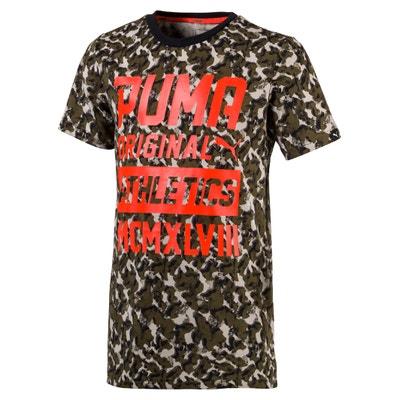 T-shirt estampada com gola redonda, mangas curtas PUMA