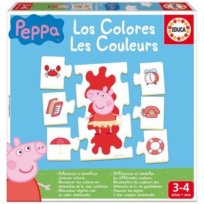 J'apprends les couleurs : Peppa Pig EDUCA
