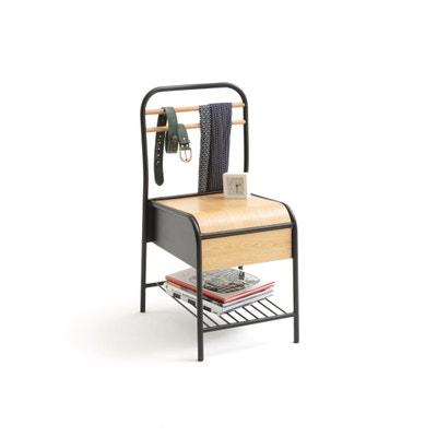 Silla con cajón de almacenaje, HIBA Silla con cajón de almacenaje, HIBA La Redoute Interieurs