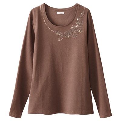 T-shirt in puro cotone pettinato T-shirt in puro cotone pettinato ANNE WEYBURN