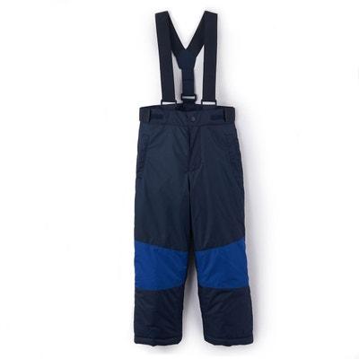 Pantalon de ski à bretelles garçon 3-16 ans Pantalon de ski à bretelles garçon 3-16 ans LA REDOUTE COLLECTIONS