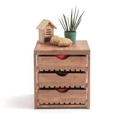 Mueble para organización exterior de madera de acacia FSC* CALEB Mueble para organización exterior de madera de acacia FSC* CALEB La Redoute Interieurs