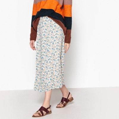 Ryes Long Printed Skirt SAMSOE AND SAMSOE