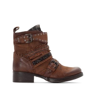 Leren boots Norton Leren boots Norton MJUS
