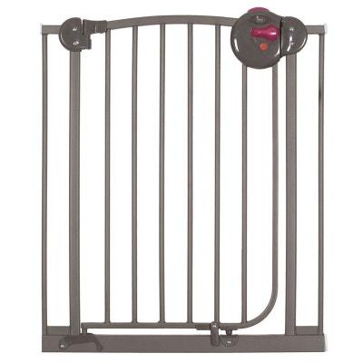 Barrière de porte et d'escalier métal taupe mat Angelcare Barrière de porte et d'escalier métal taupe mat Angelcare BELLEMONT