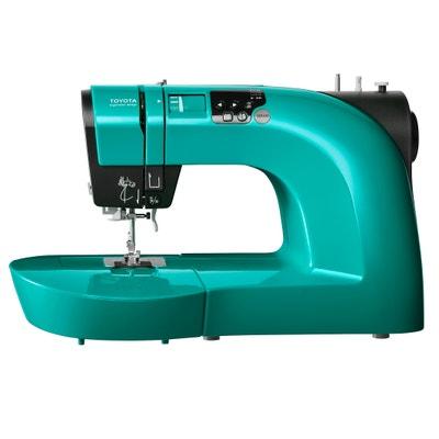 Máquina de costura e de bordar OEKAKI50Q, turquesa Máquina de costura e de bordar OEKAKI50Q, turquesa TOYOTA