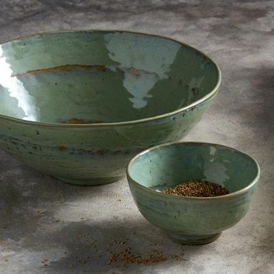 Pure Design P Naessens Stoneware Salad Bowl AM.PM.