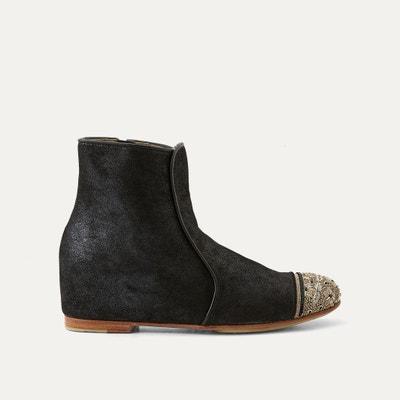 Boots cuir MEHER KAKALIA