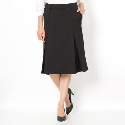 Wool Blend Pleated Skirt ANNE WEYBURN