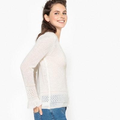 Sweter z dekoltem w serek Sweter z dekoltem w serek MADEMOISELLE R
