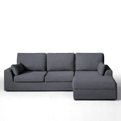 Canapé d'angle, fixe, confort supérieur, coton demi-natté, Madison Canapé d'angle, fixe, confort supérieur, coton demi-natté, Madison La Redoute Interieurs