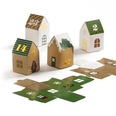 Calendrier de l'avent forme maison, CASPAR Calendrier de l'avent forme maison, CASPAR LA REDOUTE INTERIEURS