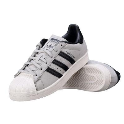 Basket Adidas Superstar Fashion J By8883 Gris / Noir Basket Adidas Superstar Fashion J By8883 Gris / Noir adidas