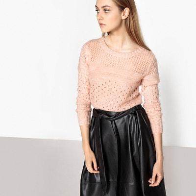 Пуловер из плотного трикотажа с круглым вырезом Пуловер из плотного трикотажа с круглым вырезом SUNCOO