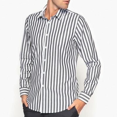 Camisa cintada, estampada, mangas compridas La Redoute Collections