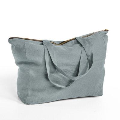 Elina Linen Zip-Up Bag Elina Linen Zip-Up Bag AM.PM