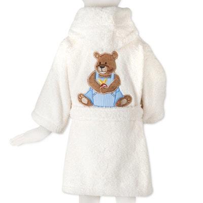 Peignoir Ourson Boy Eponge Coton 500g TRADITION DES VOSGES