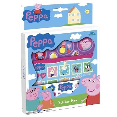 Planches d'autocollants Peppa Pig Planches d'autocollants Peppa Pig JURATOYS
