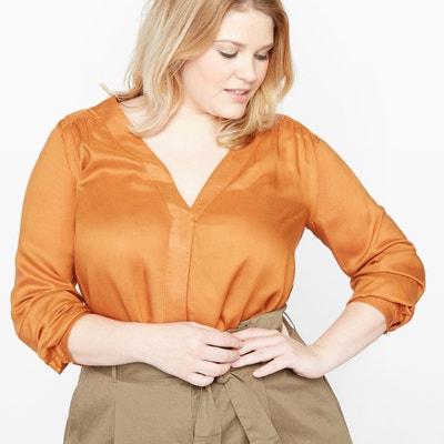Long-Sleeved Blouse Long-Sleeved Blouse CASTALUNA PLUS SIZE