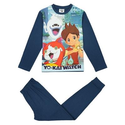 Pyjama 2 pièces - 6 - 12 ans YO KAI WATCH