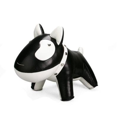 Serre-livre chien noir ALFRED ET COMPAGNIE