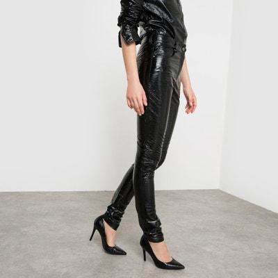 Spodnie z wysokim stanem Wanda Nylon x La Redoute