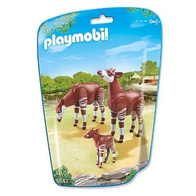 Couple d'okapis avec Bébé - PLA6643 PLAYMOBIL