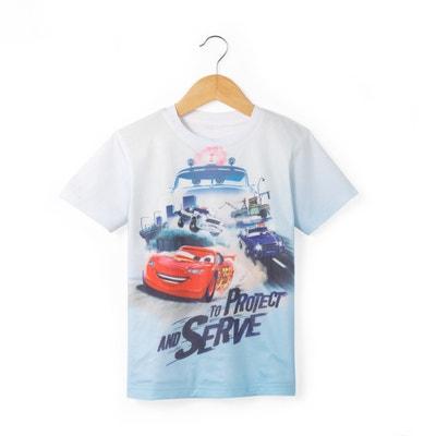 T-shirt com estampado 3D, 2 - 12 anos CARS
