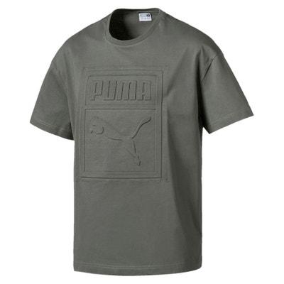 T-shirt lisa com gola redonda, mangas curtas T-shirt lisa com gola redonda, mangas curtas PUMA