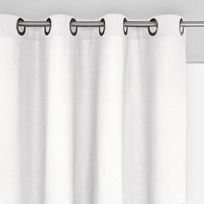 Rideau coton blanc | La Redoute