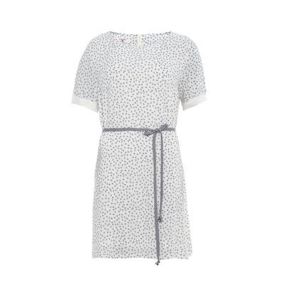 платье с короткими рукавами, с принтом и завязками PARAMITA платье с короткими рукавами, с принтом и завязками PARAMITA PARAMITA